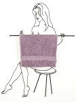 Ashley Towel Holder ( 32