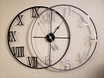 3D Double Ring Clock